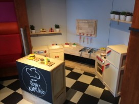 Mini kids-cafetaria bij Verhage Beverwaard