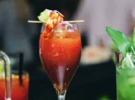 In the mix: Ketel One Prawn Tomatini