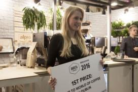 Anneke Peters beste in Barista Challenge