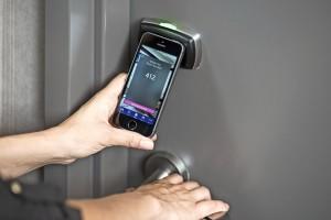 Smartphones worden hotelkamersleutels