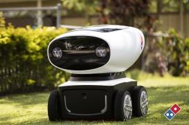 Domino's onthult plannen voor zelfrijdende bezorgrobot