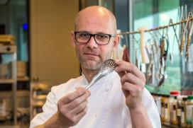 Favoriete keukenhulp van Onno Klein Langenhorst: de kleine gaatjeslepel