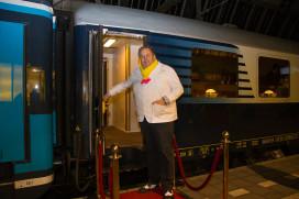 Julius Jaspers nieuwe chef rijdend Rail Restaurant