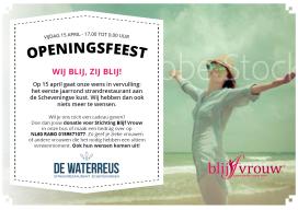De Waterreus: 'eerste jaarrond strandzaak Scheveningen'