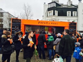 Hollandse friet kassucces in Warschau