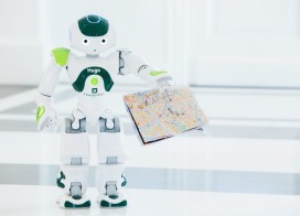 Robot in dienst bij Hampshire