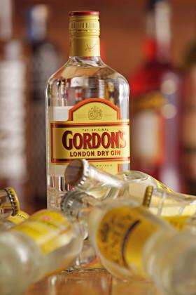 London dry gin 280x420