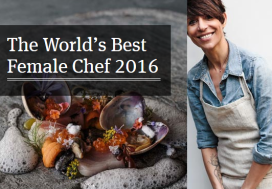Dominique Crenn wint World's Best Female Chef Award 2016
