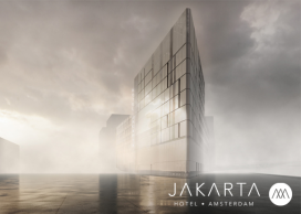 Bouw energieneutraal Hotel Jakarta Amsterdam van start