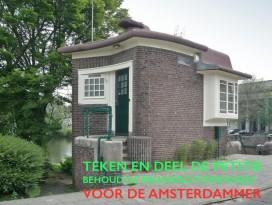 Petitie tegen hotels in Amsterdamse brugwachtershuisjes