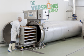 Verspillingsfabriek Hutten officieel geopend