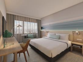 Gasten na brand terug in Marriott Hotel Den Haag