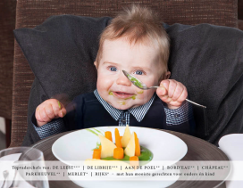 Boek babyvoeding met Michelinsterren voor goed doel