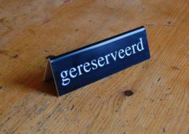 De Stelling: 'Een reserveringssysteem is onmisbaar'