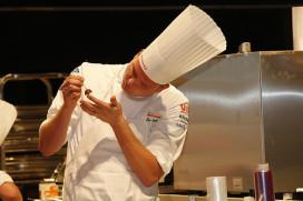 Nederlands Bocuse d'Or-team kookt met steur, steurkaviaar en hertenkalf