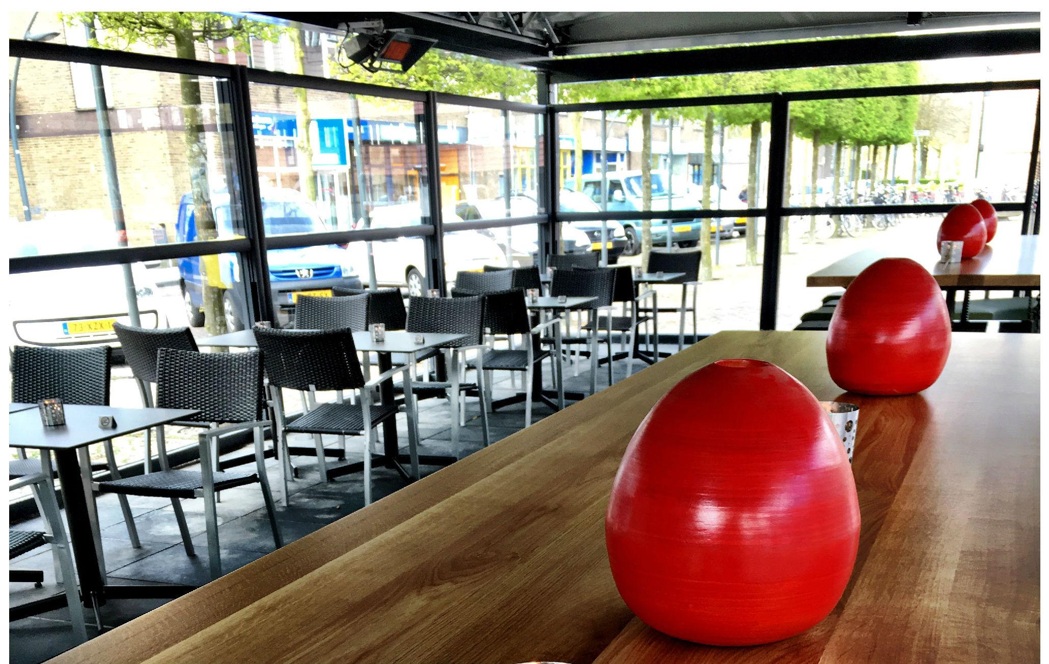 Rookvrij terras voor de rede van dronten misset horeca - Overdekt terras voor restaurant ...