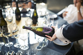 Een maand lang exclusief champagnemenu bij Taiko