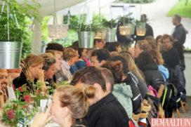 Succesvolle pop-up in Botanische tuinen: één tafel, 800 personen