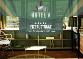Hotel V opent derde locatie Amsterdam in augustus