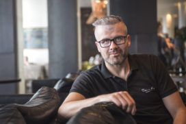 IJslandse chef Thrainn Freyr Vigfusson op Folie Culinaire