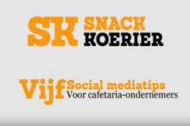 Vijf sociale media-tips voor cafetaria-ondernemers