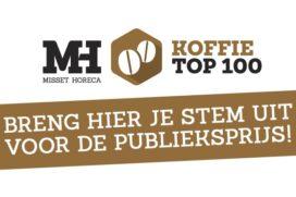 Hop aan kop in Publieksprijs Koffie Top 100 2016