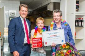 Rien Prinsen Meest Markante Horecaondernemer Drenthe 2016