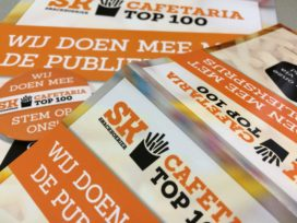 Tussenstand Cafetaria Top 100 Publieksprijs