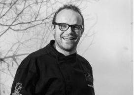 Sterchef Oliver Röder geeft demonstratie op Folie Culinaire