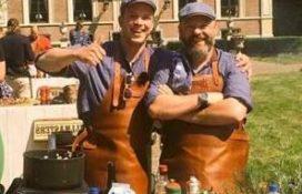 Kok en eigenaar van Proeflokaal Hengelo dé Grillmasters van 2016