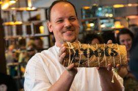 Foto's Roots Rotterdam met chef Stephan Nijst