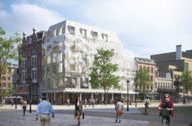 Heineken Hoek: grand-café en hotel met glazen gevel
