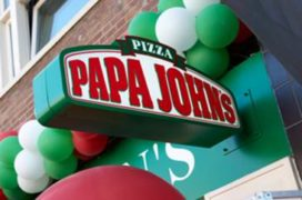 Papa John's Pizza opent in Nederland