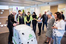 CSU presenteert schoonmaakrobot