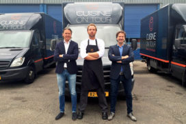 Laurens van Dam chef-kok Cuisine on Tour
