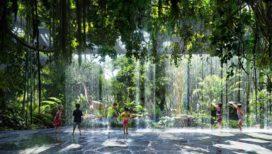 Foto's: Hilton: hotel in Dubai met regenwoud