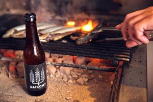 Bier en Spijs: Saison 5 met gegrilde sardientjes