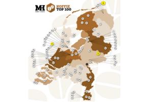 Provinciewinnaars en categoriewinnaars in de Koffie Top 100 2016