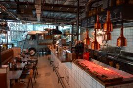 Foto's: Grand Central Food Market op Den Haag CS