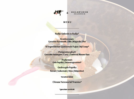 7 gangen vegetarisch menu waldorf astoria amsterdam 560x415