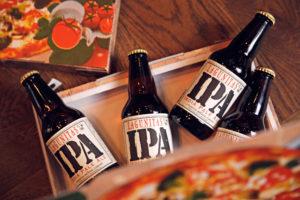 Bier en spijs: Lagunitas met pizza