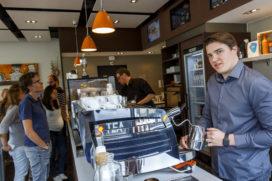 Doppio Amsterdam VU pakt derde keer op rij Publieksprijs in Koffie Top 100 2016
