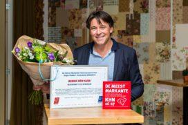 Bennie den Haan Meest Markante Horecaondernemer Midden-Nederland