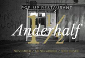 Den Bosch opent weer pop-up restaurant met anderhalve tafel