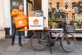 Thuisbezorgd.nl verder in elektrische fietsbezorging