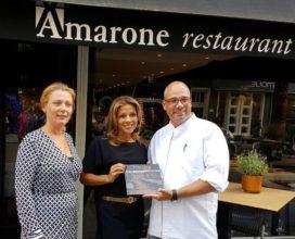 Sterrestaurant Amarone viert jubileum met boek