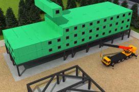 Hilton bouwt eerste modulaire hotel van Afrika