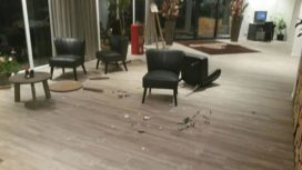 Dronken gast laat ravage achter in onbemand hotel De Achterhoek