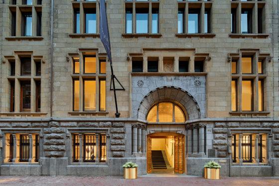 Bank entrance 560x374