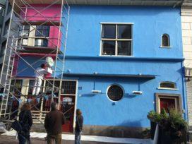Arnhems Giro-roze café is nu 'Airborne-blauw'